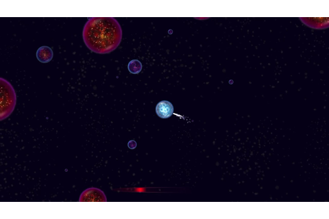 Osmos game (iOS) - level ambient 4 - YouTube