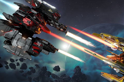 EVE: Valkyrie, VR's first big game, is no longer VR-only ...