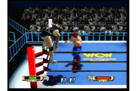 WCW/NWO World Tour: Rey Mysterio Jr vs BlackWidow - YouTube