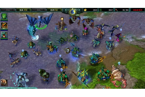 Warcraft III: The Frozen Throne GAME MOD Warcraft III Mod ...