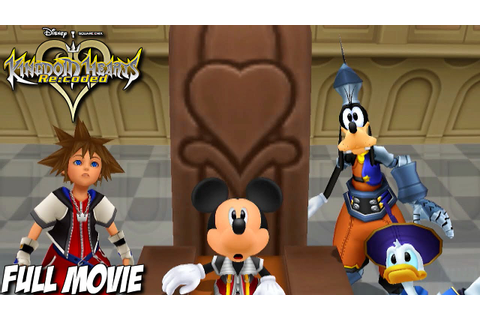 Kingdom Hearts Re:Coded - Full Movie - Kingdom Hearts HD 2 ...