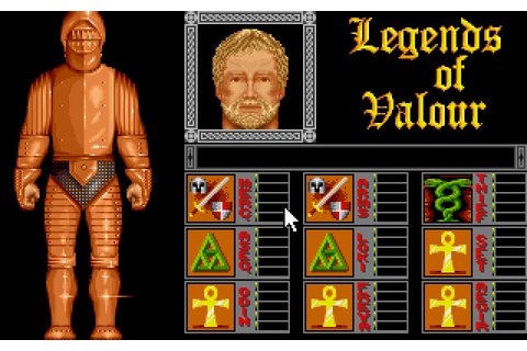Download Legends of Valour rpg for DOS (1992 ...