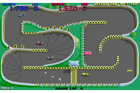 My all time favourite video games: Super Sprint - Atari ST ...