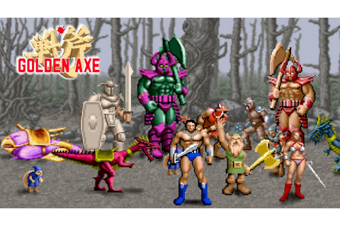 Vintage Video Games #8 - Golden Axe | LSM Bass Music Blog