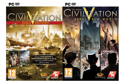 Civilization V Gold & Brave New World - PC Game | Multirama.gr