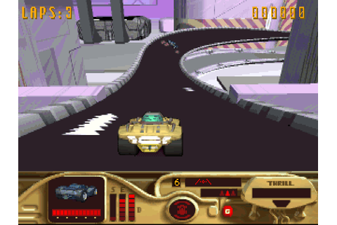 Download MegaRace | DOS Games Archive