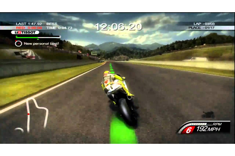 MotoGP 10/11 Gameplay - The DOCTOR! - YouTube