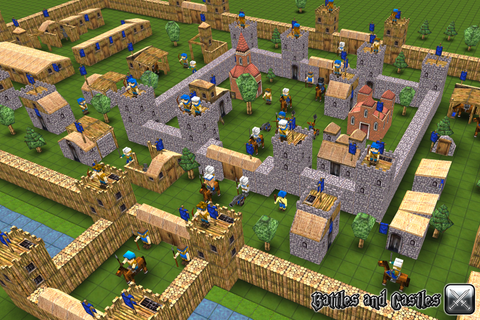 Build your own castle :) image - Battles and Castles ...