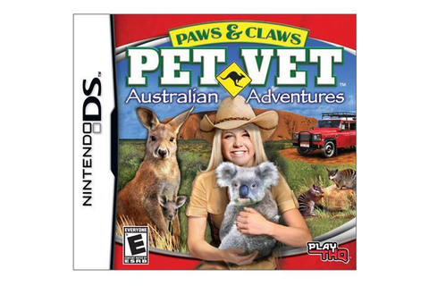Paws & Claws Pet vet Australian Adventure Nintendo DS Game ...