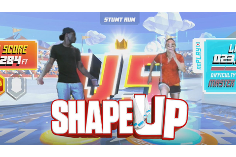 Shape Up - STUNT RUN CHALLENGE! - YouTube