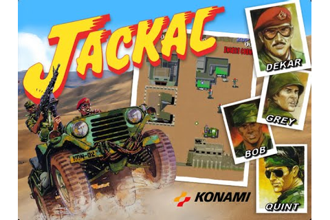 Jackal (Arcade) - YouTube