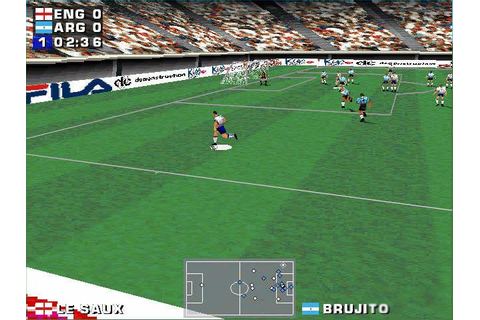 Three Lions Download (1998 Sports Game)