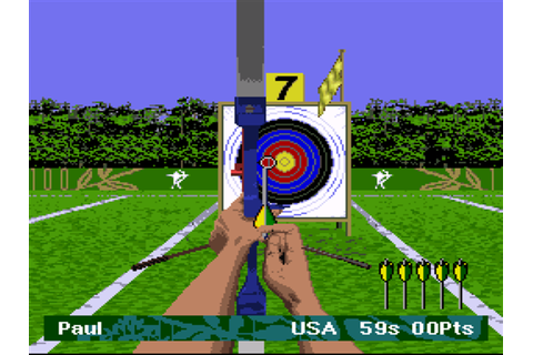 Olympic Summer Games Atlanta 96 Screenshots | GameFabrique