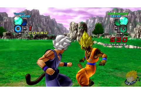 Dragon Ball Z Ultimate Tenkaichi: DBZanto Vs Custom Online ...
