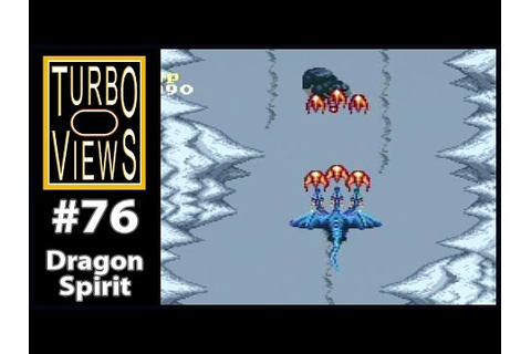 """Dragon Spirit"" - Turbo Views #76 (TurboGrafx-16 / Duo ..."