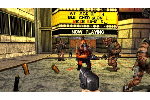 Duke Nukem 3D's 20th Anniversary Edition is the same game ...