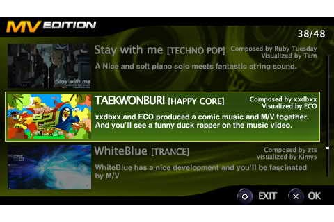DJ Max Fever - Download Game PSP PPSSPP PSVITA Free