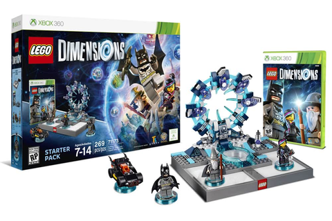 LEGO Dimensions Starter Pack: PS4 or XB1 $25, PS3, Xbox ...