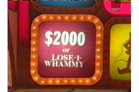 Press Your Luck Game Show