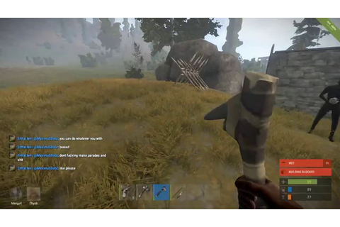 Rust game the journey how to treat of noob 2016 part-1 ...