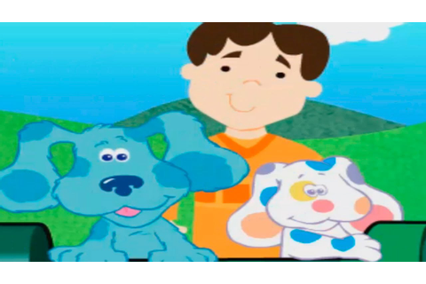 BLUE'S CLUES - Blue's Gold Blue Challenge - New Blue's ...