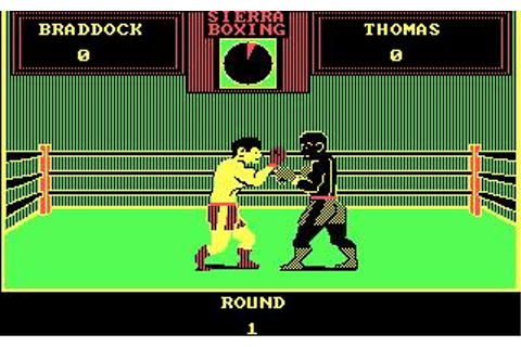 Sierra Championship Boxing Download (1985 Sports Game)