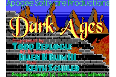 Download Dark Ages | DOS Games Archive