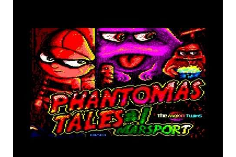 Phantomas Tales #1 Marsport Amstrad cpc HD - YouTube