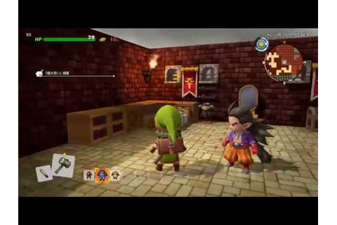 Dragon Quest Builders 2 PS4 gameplay | 8 minutes of DQB2 ...