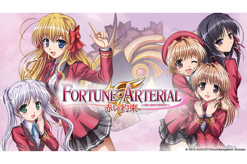 The Otaku Wall: Anime review: Fortune Arterial