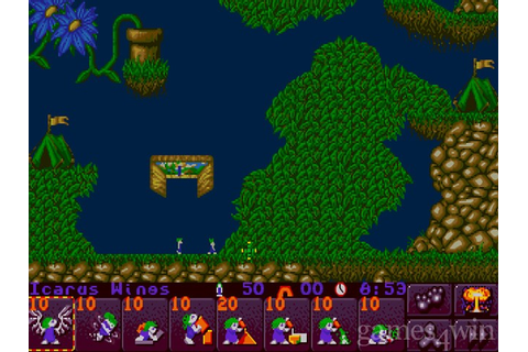 Lemmings 2 - The Tribes Download on Games4Win