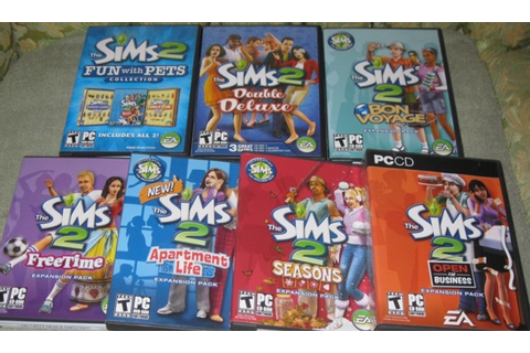 Free: SIMS 2 Double Deluxe + 6 Expansion Packs - PC Games ...