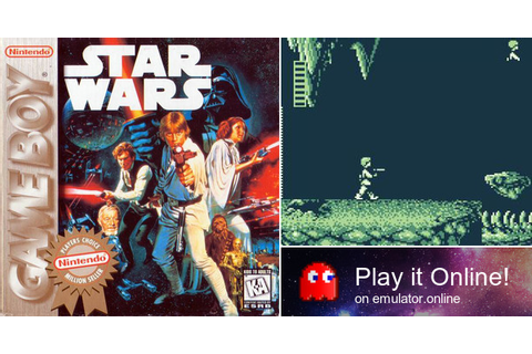 Play Star Wars on Game Boy