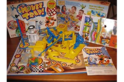 MOUSE TRAP. THE CRAZY GAME WITH 3 ALL-ACTION CONTRAPTIONS ...