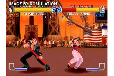 Fatal Fury - Wild Ambition (USA) PSX / Sony PlayStation ...
