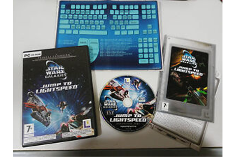 Star wars galaxies jump to lightspeed expand pc game cd ...