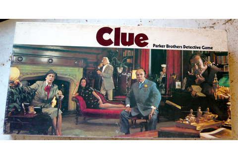 FALL SALE 25% off Clue board game vintage 1972 edition