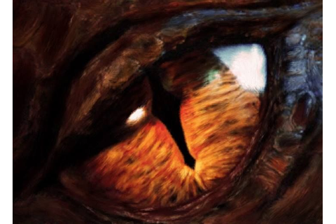 Smaug The Dragon's Eye Super Cool! #Smaug #TheHobbit ...