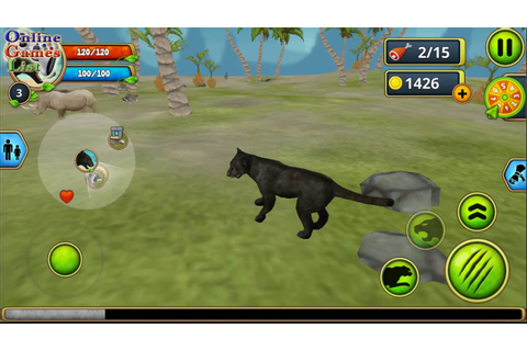 Panther Family Sim game By Area730 (Android Gameplay ...