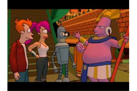 Futurama (video game) - The Infosphere, the Futurama Wiki