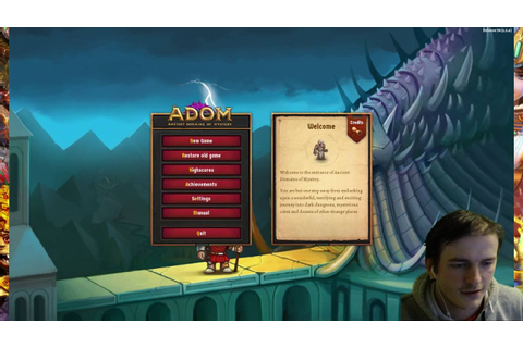 Ancient Domains Of Mystery DIE, MAGGOT! ♣ ADOM roguelike ...
