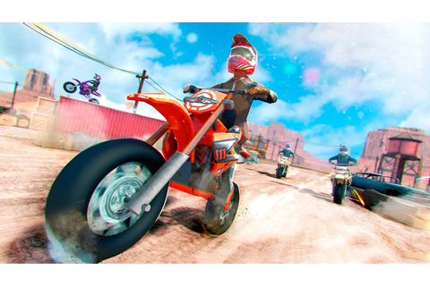 Bike racing games - Real Motorbike 3D Scooter Race ...