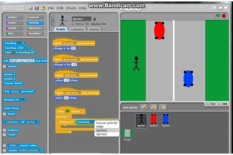 How to make CROSSY ROAD on Scratch - YouTube