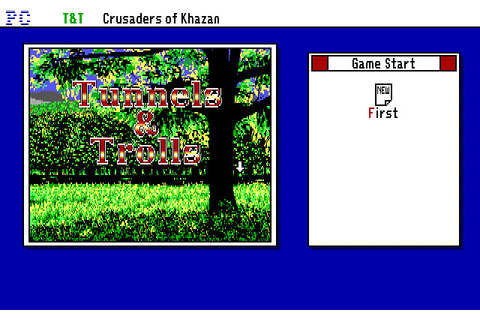 Скриншоты Tunnels & Trolls: Crusaders of Khazan на Old ...