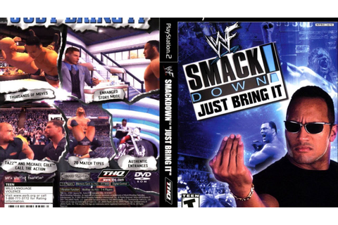 WWF Smackdown Just Bring It 4 Way TLC Match - YouTube