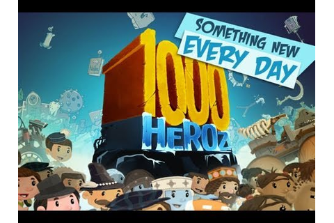 1000 Heroz iPhone/iPod Gameplay - The Game Trail - YouTube