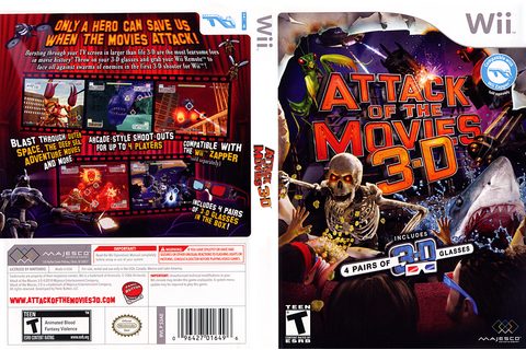 S3AE5G - Attack of the Movies 3D