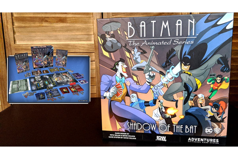 The New Batman: The Animated Series Board Game Is A Big ...