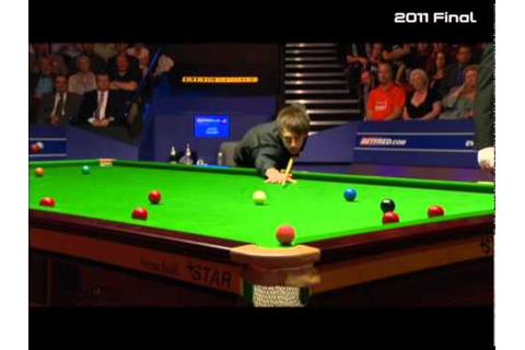 2011 World Snooker Championship Final - YouTube