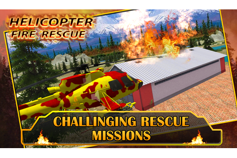 Fire Helicopter Rescue - Android Apps on Google Play
